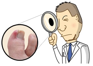 Being a podiatrist is often like being a detective