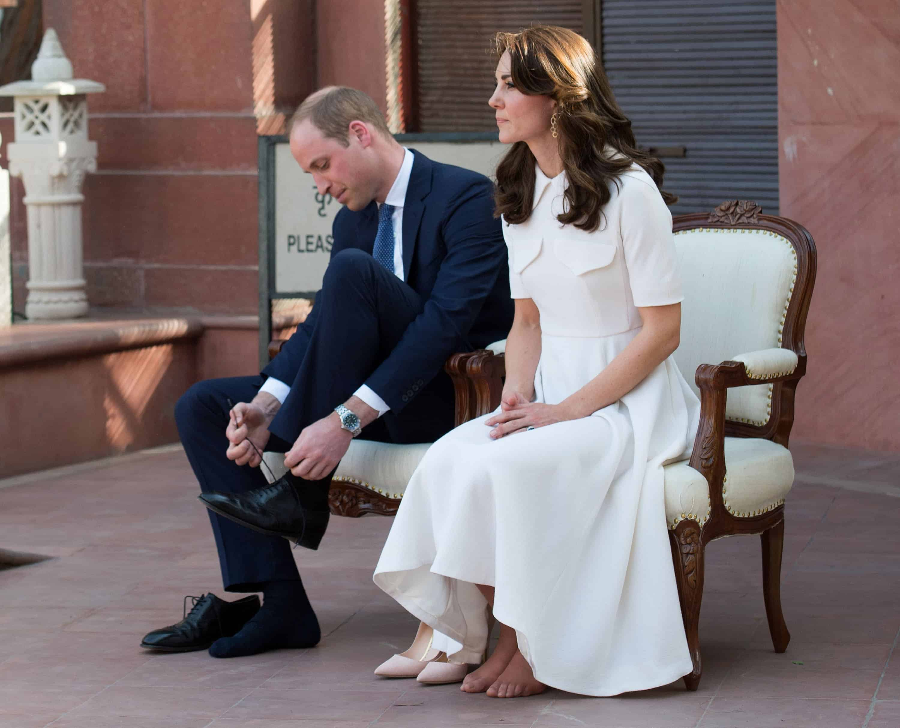 Duchess Of Cambridge S Feet Come Under Scrutiny During