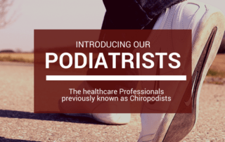 Chiropodists vs Podiatrists