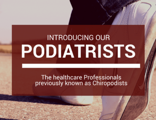 Podiatrists: Previously known as Chiropodists